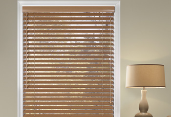 @Home Collection 2 Alloy Wood Blinds Custom Blinds and Shades By SelectBlinds.com