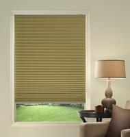 @Home Collection Solids Blackout Pleated Shades