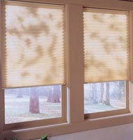Grand Pleated Shades