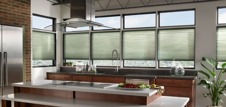 Sonoma Light Filtering No-Holes Pleated Shades Custom Blinds and Shades By SelectBlinds.com