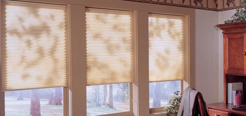 Grand Pleated Shades Custom Blinds and Shades By SelectBlinds.com