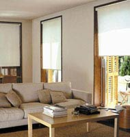 Splendor Fabric Room Darkening Roller Shades