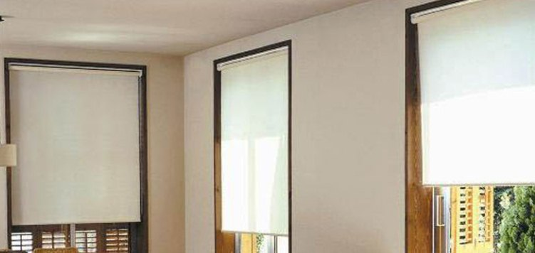 Splendor Fabric Room Darkening Roller Shades Custom Blinds and Shades By SelectBlinds.com