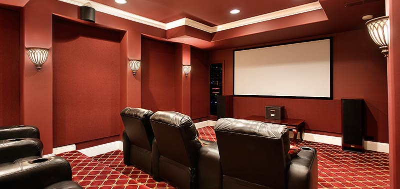 ideas for home theater window coverings