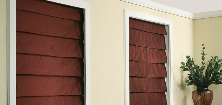 Premium Roman Shades Custom Blinds and Shades By SelectBlinds.com