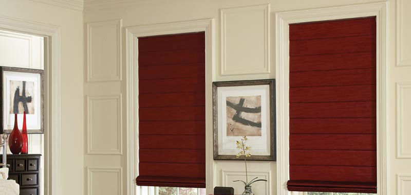 Blackout Roman Shades Custom Blinds and Shades By SelectBlinds.com