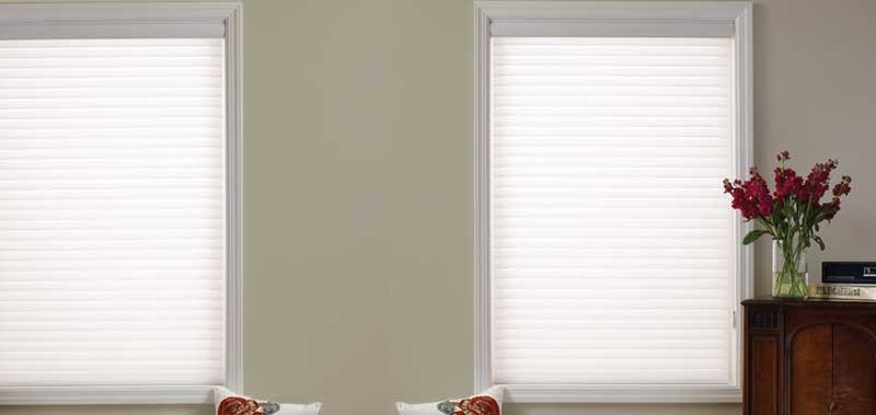 Good Housekeeping 2 Room Darkening Sheer Shades Custom Blinds and Shades By SelectBlinds.com