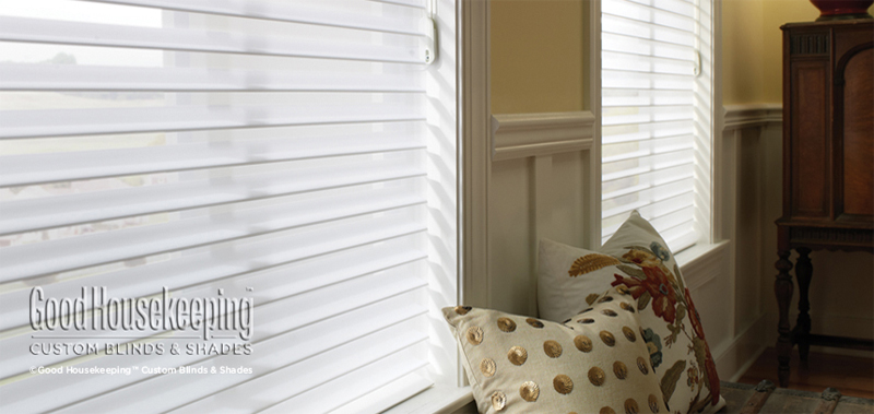 Good Housekeeping 3 Light Filtering Sheer Shades Custom Blinds and Shades By SelectBlinds.com