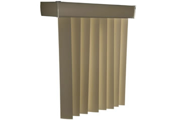 3 189 Quot Embossed Faux Wood Vertical Blinds Selectblinds Com