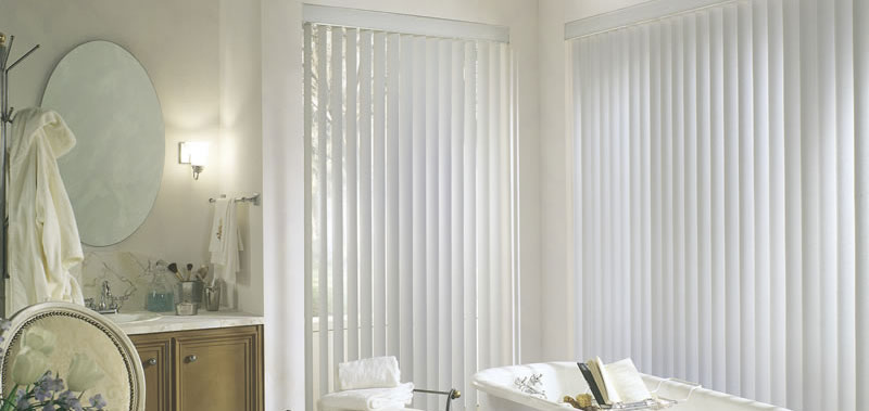 3 1/2 Premium Textured Vertical Blinds Custom Blinds and Shades By SelectBlinds.com