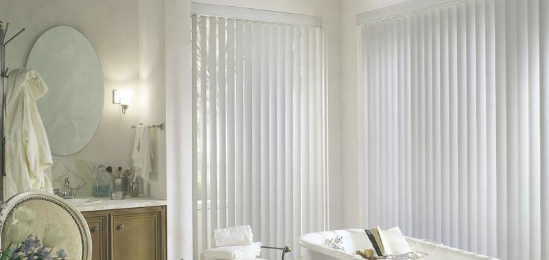 "3 1/2"" Premium Textured Vertical Blinds | SelectBlinds.com"