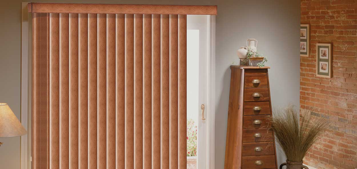 @Home Collection Vertical Blinds Custom Blinds and Shades By SelectBlinds.com