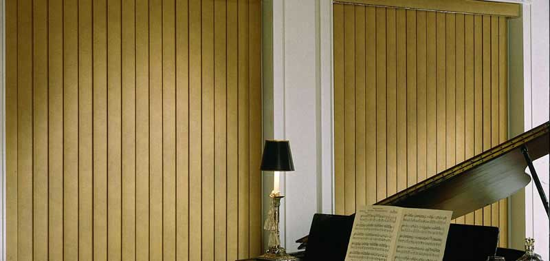 3 1/2 Embossed Faux Wood Vertical Blinds Custom Blinds and Shades By SelectBlinds.com