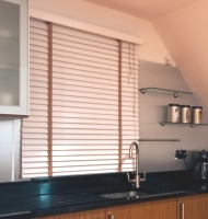 2 American Hardwood Wood Blinds