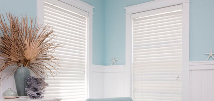 Give your home a traditional beachy look and feel with these 2 inch American hardwood blinds.