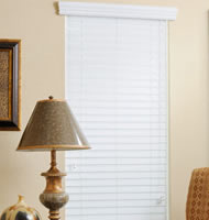 2 Priority Faux Wood Blinds
