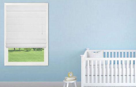Cribs away from windows